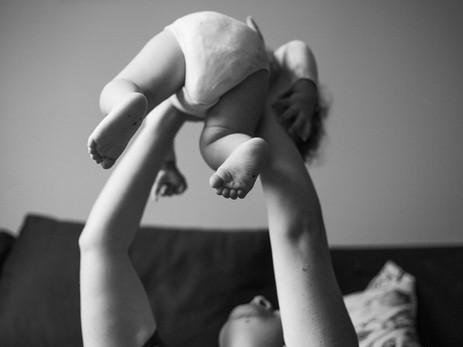 Ensaio lifestyle bebê