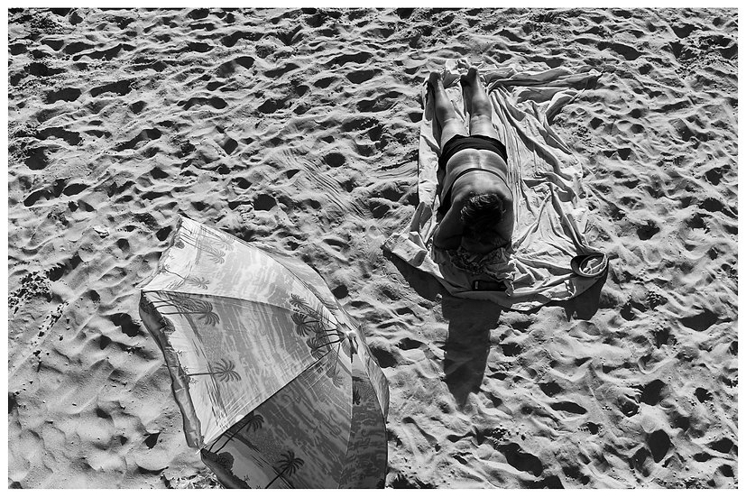 Mulher Sol Coney Island N.Y.C. 20x30