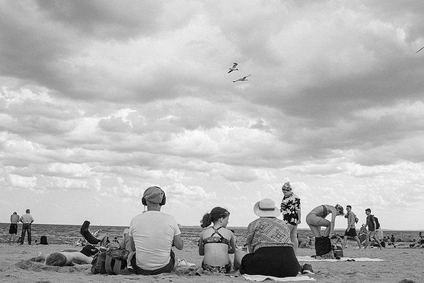 Family Time Coney Island N.Y.C 20x30