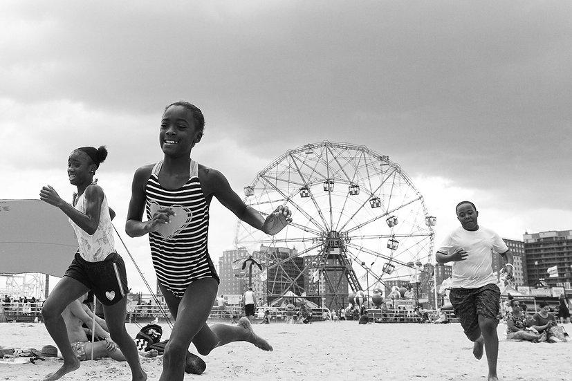 Kids Coney Island N.Y.C. 20x30