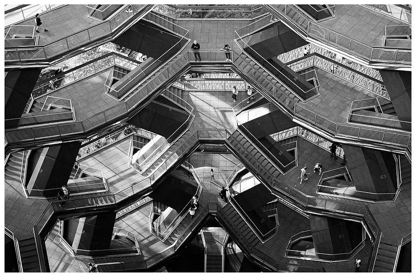 The Vessel N.Y.C. inside 20x30
