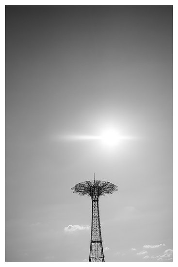 Sunset Red Tower Coney Island N.Y.C 20x30