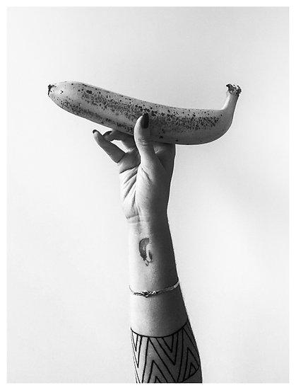 Segurada na banana 15x20
