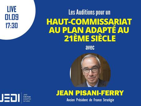 JEDI HEARINGS - Recording With Jean Pisani-Ferry