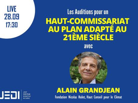 JEDI HEARINGS - Recording With Alain Grandjean