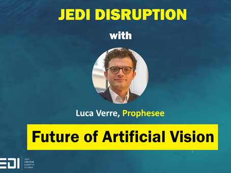 JEDI DISRUPTION - The Future of Artificial Vision With Luca Verre, Prophesee