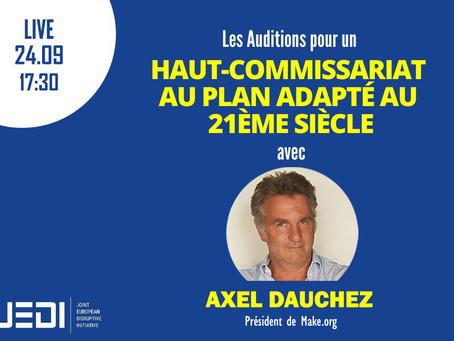 JEDI HEARINGS - Recording With Axel Dauchez