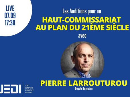 JEDI HEARINGS - Recording With Pierre Larrouturou