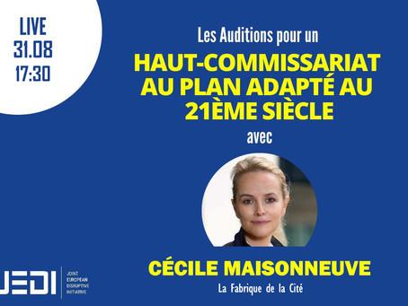 JEDI HEARINGS - Recording With Cécile Maisonneuve