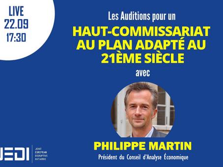 JEDI HEARINGS - Recording With Philippe Martin