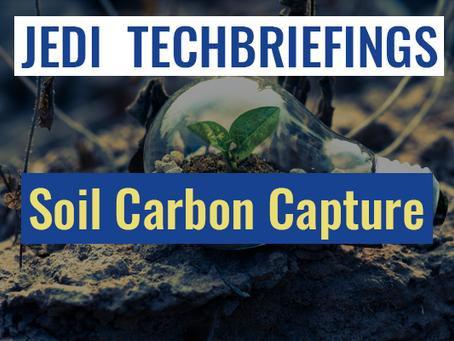 Techbriefing : Soil Carbon Capture #Environment & Energy