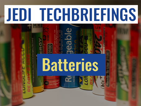 Techbriefing : Batteries #Environment & Energy