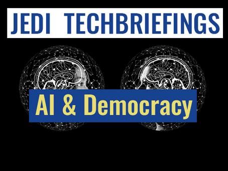 Techbriefing : AI & Democracy #Digital