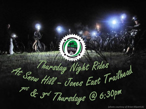 Thursday Night Rides @ Snow Hill