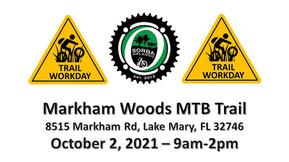 Markham Woods MTB Trail Work Day