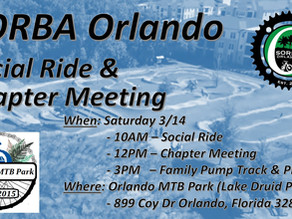Social Ride/Chapter Meeting