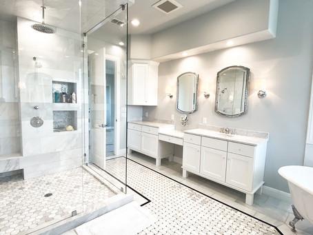 Sleek & Modern Bathroom + Closet Remodel