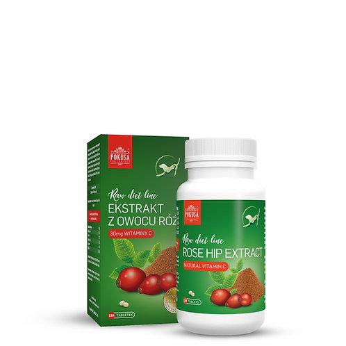 Rosehip frugtekstrakt 120 tabletter