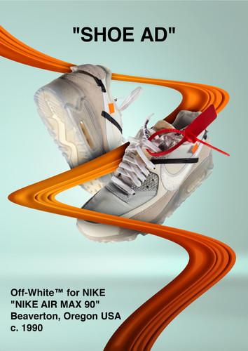 OFF-WHITE SHOE AD