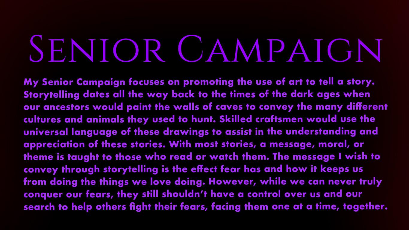 Senior Campaign Description