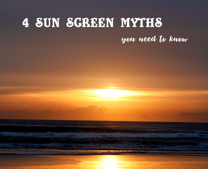 4 SUN CARE MYTHS you need to know.