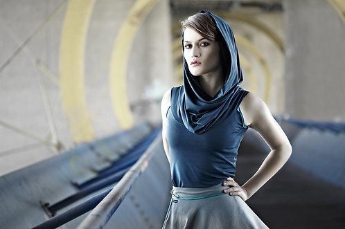 eBook Schal-Kragen-Shirt