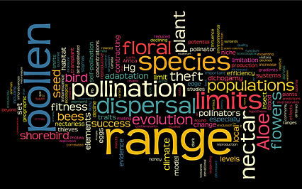 Anna Hargreaves ecology evolution pollination publications pollen-theft, range limits