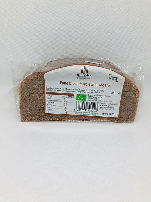 Pane di farro e segale 500 gr