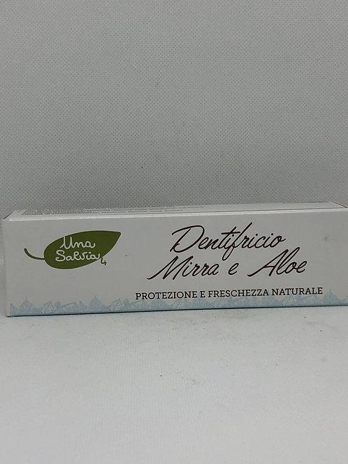 Dentifricio mirra e aloe 75 ml