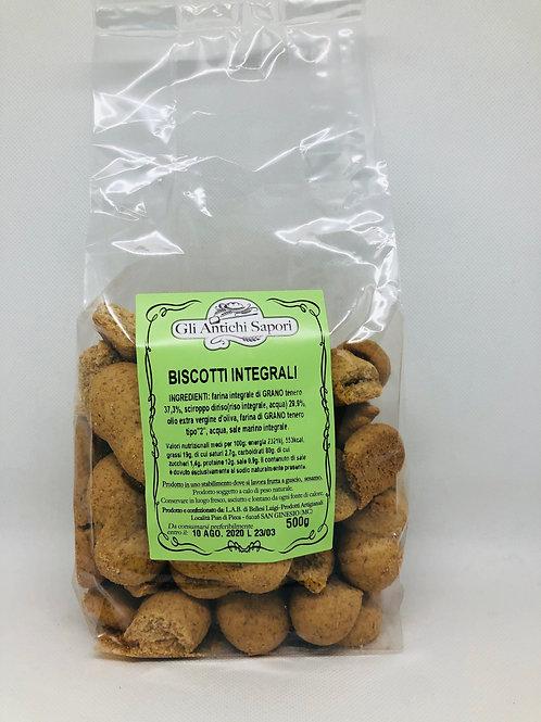 Biscotti integrali 500 gr