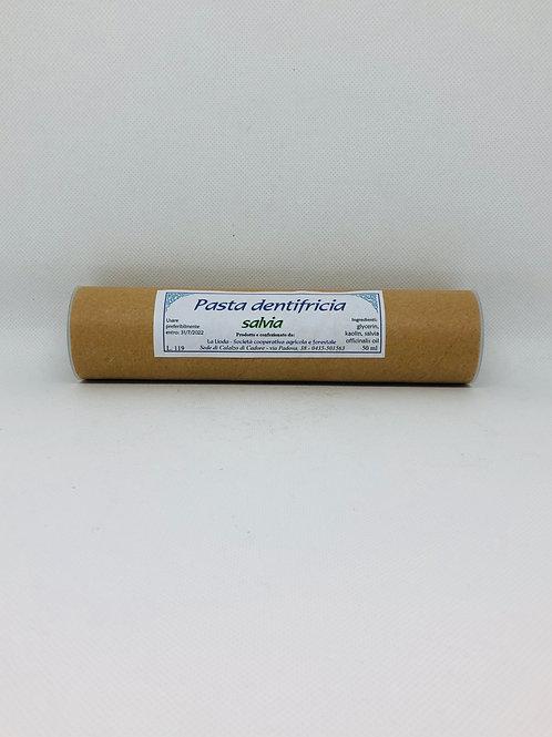 Pasta dentifricia alla salvia 50 ml