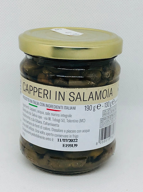 Capperi in salamoia 130 gr