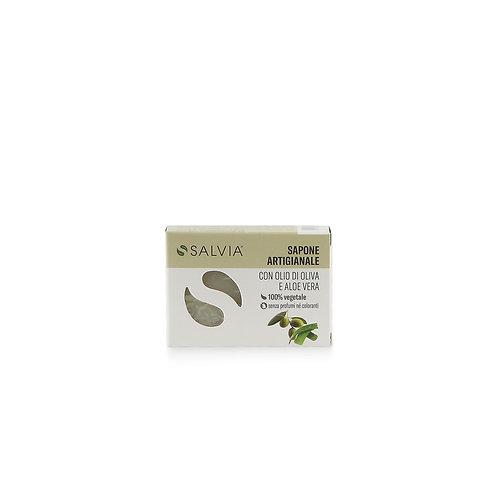 Sapone olio d'oliva e aloe 100 gr