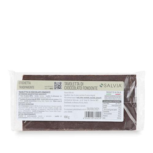Tavoletta Cioccolata Fondente 75% 100 gr