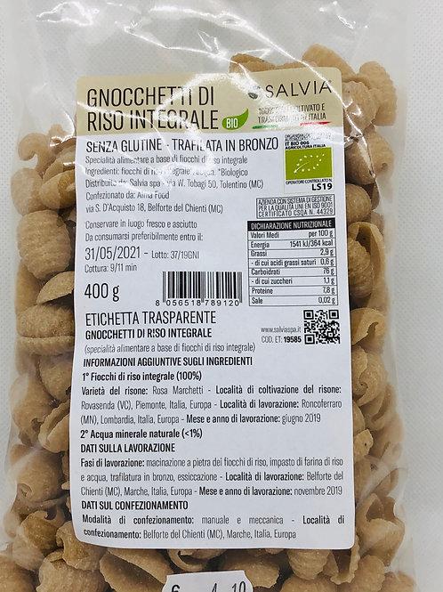 Gnocchetti di riso integrale 400 gr