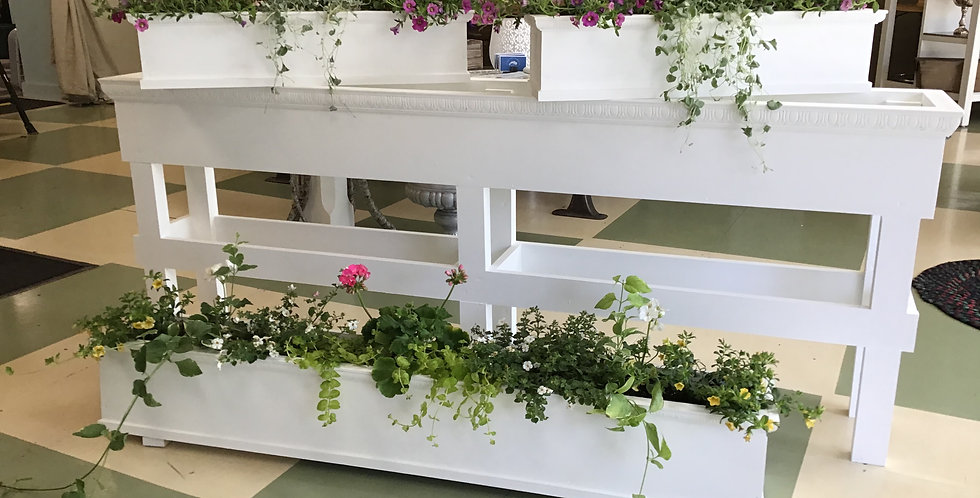 Hand Crafted Flower Boxes