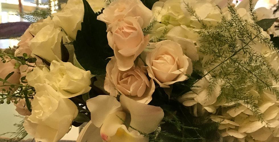 White & Blush Decadence