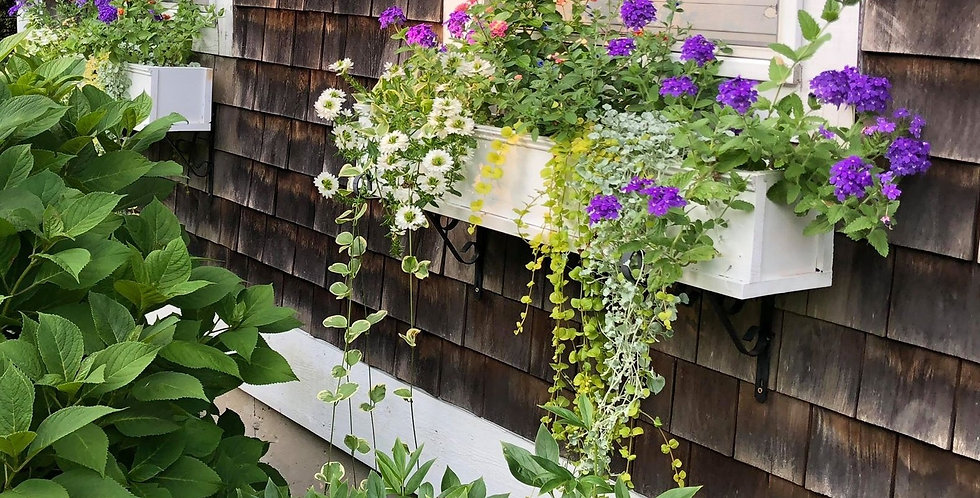 Hand Crafted Flower Box