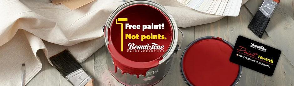 BeautiTone Loyalty Program Paint Rewards