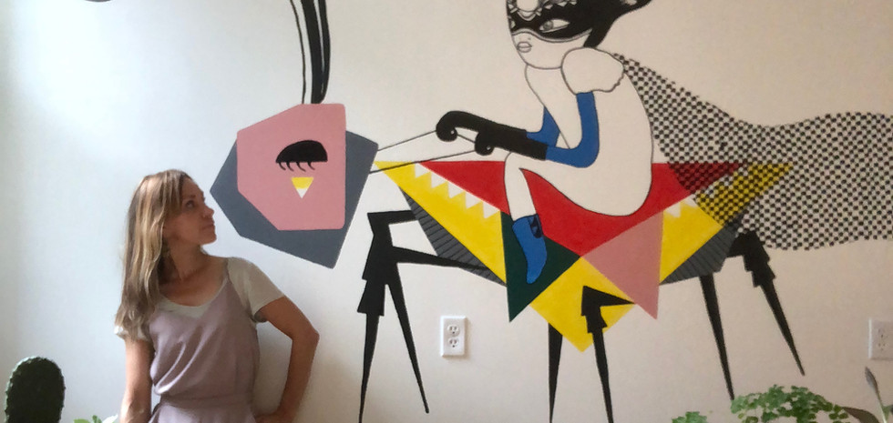 Office wall art and interior design in San Franciscon