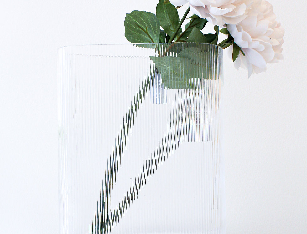 Nude Vase Mist clear hoch