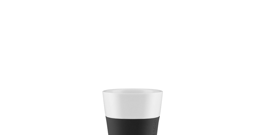 Eva Solo Espresso Becher 2er-Set schwarz