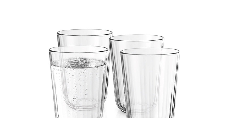 Eva Solo Facettenglas 34cl 4 Gläser
