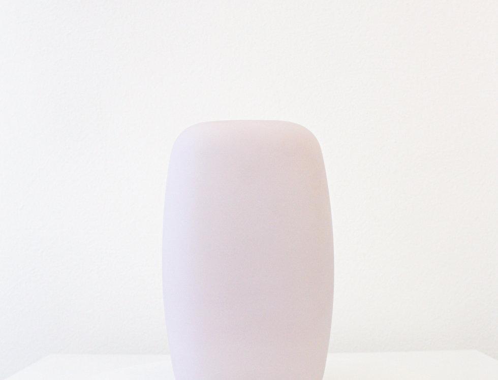 Nude Vase Sweets opalpink, inkl. weiße Platte