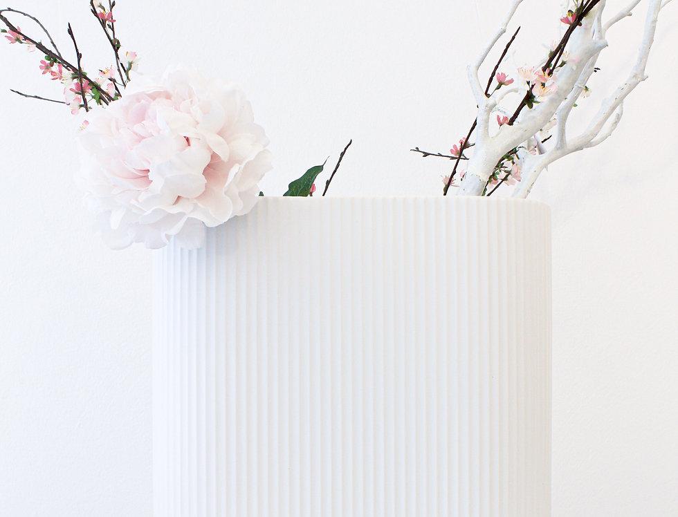 ASA Vase white matt L