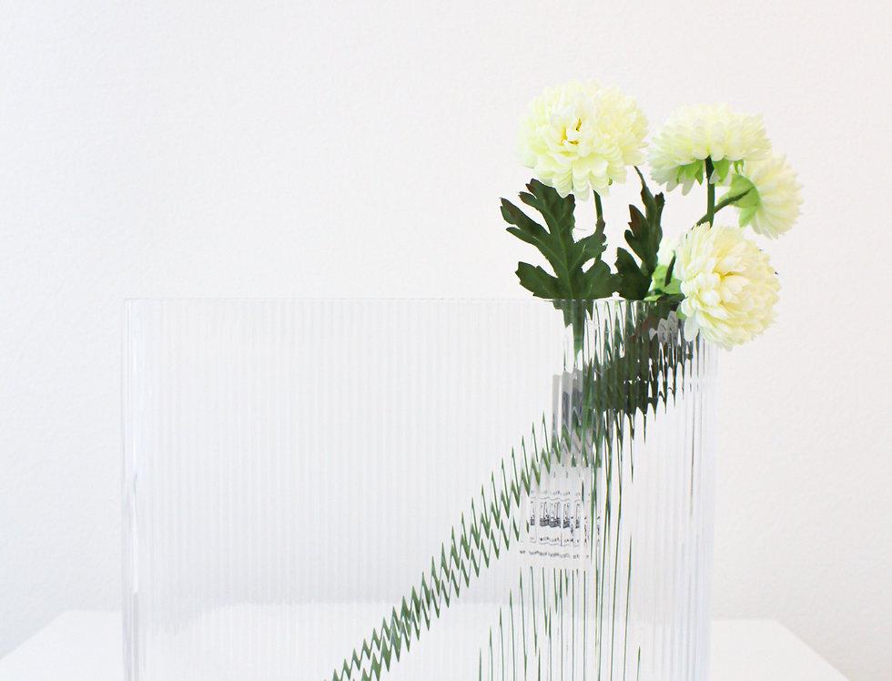 Nude Vase Mist clear flach