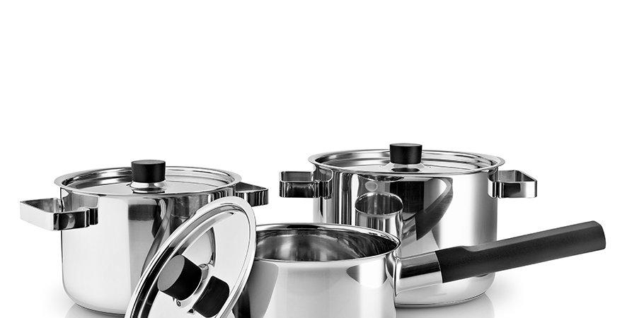 Eva Solo Nordic Kitchen Edelstahl-Kochgeschirr Set