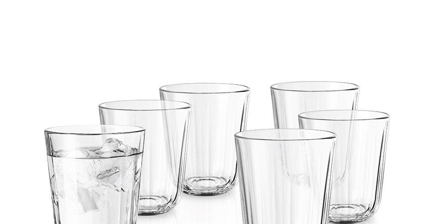 Eva Solo Facettenglas 27cl 6 Gläser