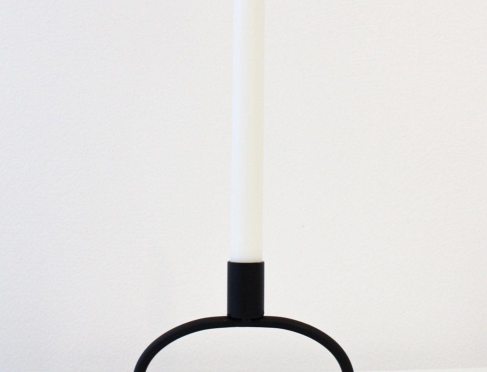 Kaheku Leuchter Topolino matt schwarz flach