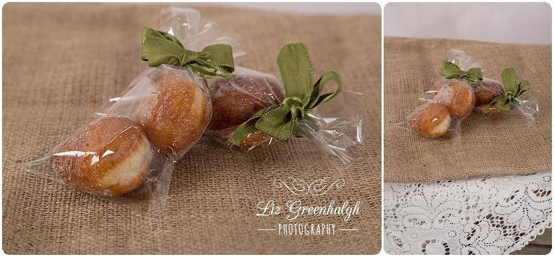 Mini Donut Wedding Favour